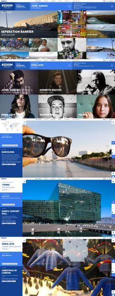 Nokia - The Zoom Project, Сочетание цветов