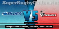 #Crusaders vs #Blues Live Stream 2020 | Rd 10 - Full Match Replay #SuperRugby Crusaders Rugby, Rugby Games, Super Rugby, Full Match, Replay, Blues, Live