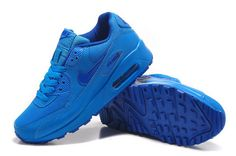 Women And Men Nike Air Max90 Running Shoes Fluorescence Blue|only US$89.00 - follow me to pick up couopons. Cheap New Balance, New Balance Shoes, Blue Air Max, Air Max 90, Air Max Sneakers, Sneakers Nike, Shoes 2015, Shoes Outlet, Nike Men