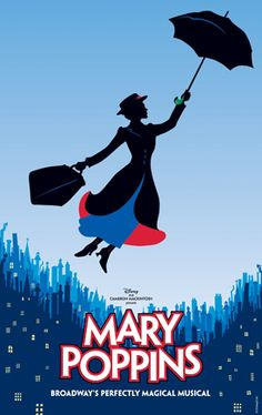 I love Marry Poppins! When I was little, I'd cry when she left