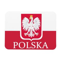 Shop Polska Polish Flag Coat of Arms Flex Magnet created by PolishPride. Poland Flag, Soft Baby Blankets, National Flag, Consumer Products, Coat Of Arms, Business Supplies, Cool Patterns, Invitation Cards
