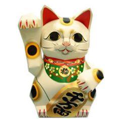 Chat chanceux:chat apportant la fortune - Porte-bonheur - Décoration - Créations en papier - Canon CREATIVE PARK