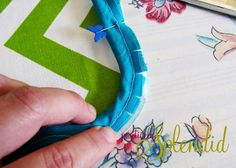 Piping Tutorial + Bee Happy Pillow   Positively Splendid {Crafts, Sewing, Recipes and Home Decor}