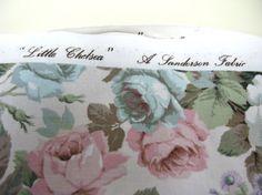 Sanderson Little Chelsea  Vintage Fabric  by MissieMooVintageRoom