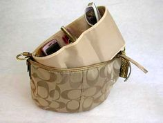Purse to Go Purse Organizer Insert Liner, Hand Bag Organizer $19.99 - Free Shipping ~ for my Speedy