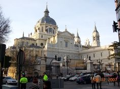 Madrid Cathedral Spain Read about Spain's capital Madrid by clicking on the photo
