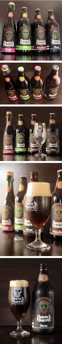 Cerveja artesanal mineira Buena Muerte criada como hobby pelo médico André Souza. #brazil #beer #craftbeer