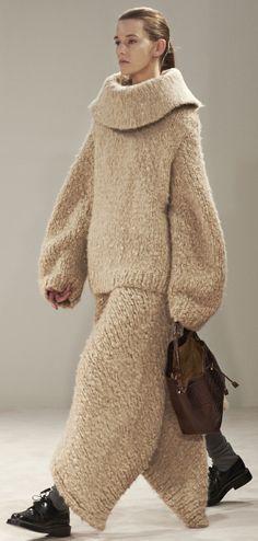 The Row Fall 2014 #NYFW-- teddy bear outfit for next Halloween?  Just add ears....