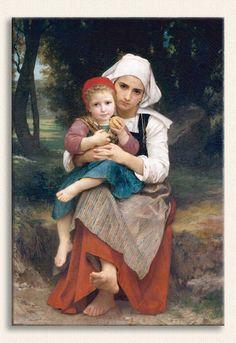 William Adolphe Bouguereau, Breton Kardeşler, Tarih: 1871