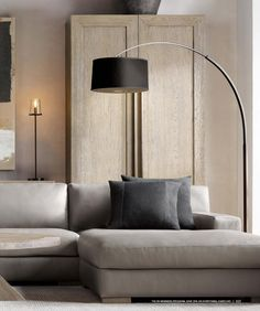 RH Source Books RH Modern 320 Arc Floor Lamps, Rh Modern, Modular Sectional, Modern, Home Decor, Interior Design Styles, Furniture Delivery, Interior Design, Coffee Table
