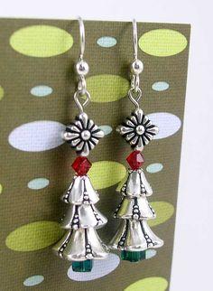 Oh, Christmas Tree Earrings