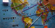 Mystery Skype - The global guessing game that gets kids learning with Skype. Sign up to join our new Mystery Skype community.