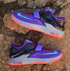 """Nike KD 7 """"Cave Purple"""" (Detailed Pics & Release Info)"""