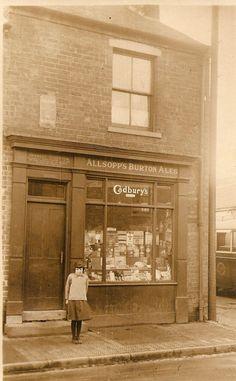 Herbert Stretton's shop heath hayes,