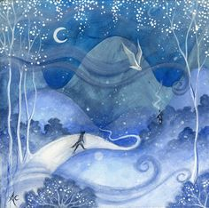 Art print titled 'Guided Home' by Amanda Clark.