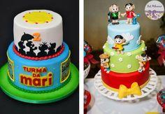 Confira ideias incríveis de convites, bolos, doces, decorações e lembrancinhas para uma festa Turma da Mônica inesquecível!
