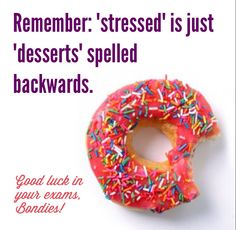 Good luck to all Bond Students starting their exams today!