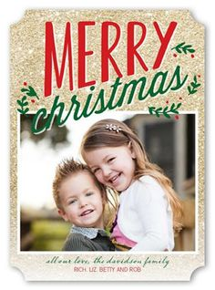 5x7 Stationery Card by Petite Lemon. Send a Christmas card friends and family will love. | Shutterfly