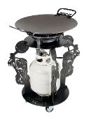 Sharing another RK Motorcyle DISC-IT Design.  We custom make the DISC--It with any pattern or design (or combination of designs that you choose.    The DISC-IT Grill, also affectionately referred to as a discada, disco or cowboy wok is used to cook virtually anything you can imagine.  The DISC-IT Grill is a PATENTED product manufactured in Albuquerque, NM.  Visit us at www.disc-it.com