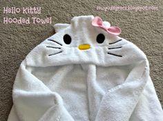 Sew God's Grace: Hello Kitty Hooded Towel