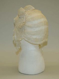 1804-1814 cotton cap, French