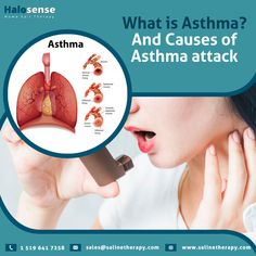 Asthma is a widely rising health condition nowadays that has become a literal problem for many when it comes to living a stress-free life! Exposure to typical allergens, pollen or mites can trigger asthmatic attacks. #Asthma #InflammationOfAirWays #IncreaseInMucos #Coughing #Breathing #ChestPain #ChestTightness #ShortnessOfbreath #SevereWheezing #Rapidbreathing #NaturalTrearment #SaltTherapy #SalineTherapy What Is Asthma, Shortness Of Breath, Lungs, Chronic Illness, Stress Free, Therapy, Health, Easy, Life