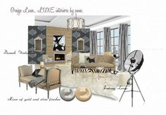 Greige luxe... LUXE interiors by anne.