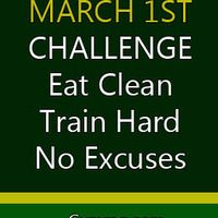 Make tomorrow a fresh beginning, pick March as your month to seek fitness!