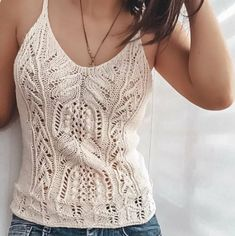Summer Knitting, Lace Knitting, Knit Fashion, Fashion Outfits, Knit Shrug, Top Pattern, Crochet Clothes, Beautiful Outfits, Knitwear