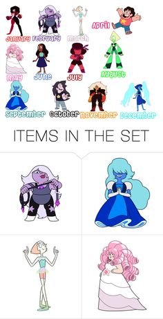 """""""Steven Universe Zodiac"""" by imanerd2298 ❤ liked on Polyvore featuring art"""
