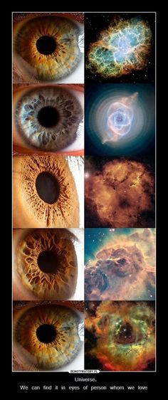 universe vs eyes