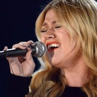 Kelly Clarkson performs on the 55th Annual GRAMMY Awards