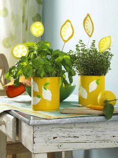 Die Deko-Ideen mit Zitrone auf einen Blick