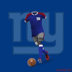 79423ce0e0 Así lucirían los uniformes de NFL si fueran de futbol - RÉCORD Uniformes De  Futbol