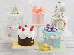 Sharon Wee Creations: Adorable Cakes For All Occasions by Sharon Wee — Kickstarter