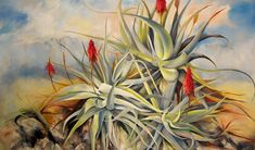 """This painting was inspired by walks in the Helderberg Nature Reserve, Somereset West, South Africa. """"Rock Concert' Oil on canvas x Painted by Ellie Eburne Cape Diy Cardboard, Rock Concert, Nature Reserve, Flower Art, South Africa, Oil On Canvas, Cape, Paintings, Inspired"""