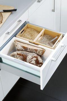 Hochwertig Alles Hat Seinen Platz   Mit Dem Brottopf Für Die Schublade. Mehr Ideen  Rund Um