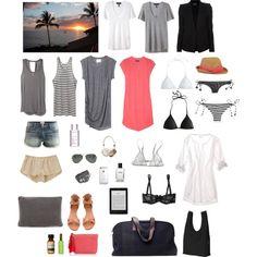 Perfect beach packing list