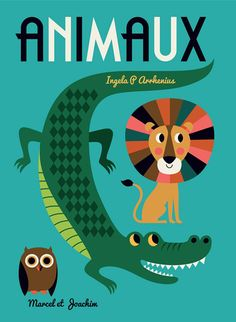 "print & pattern blog - ingela p arrhenius' new book ""Animaux' published in October 2015"