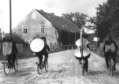 @Kady Culbertson We used to carry a bass on our backs up hill both ways in the snow... or, riding our bicycles. Haha.