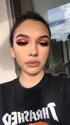 Gorgeous Makeup: Tips and Tricks With Eye Makeup and Eyeshadow – Makeup Design Ideas Cute Makeup, Glam Makeup, Gorgeous Makeup, Skin Makeup, Makeup Inspo, Makeup Inspiration, Makeup Looks, Makeup Tips, Drugstore Makeup