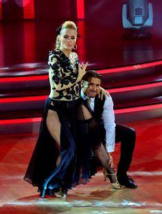 Aura Cristina Geithner, México Baila, Reality Show, TV Azteca, 2013.