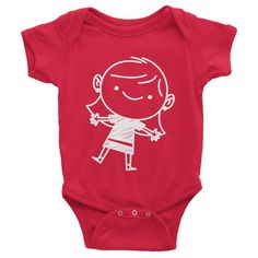 100% made in the U.S.! Red Infant Short Sleeve Little Mrs Onesie, too cute! - Little Troublemakers