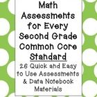 One page assessments for EVERY 2nd grade CCSS standard. $