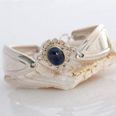http://www.pinterest.com/weewardrobe/crafty-silverware-redo/  Vintage Spoon Bracelet  Molly Stark Silverware by mcfmiller, $55.00