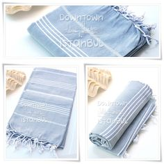 Peshtemal Towel SET of 3  Turkish Bath Towel by DowntownIstanbul, $44.99