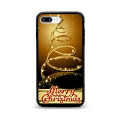 Cheap Rare Beautiful Golden Configurate Christmas Hard Plastic Case iPhone 6/6s+ #UnbrandedGeneric
