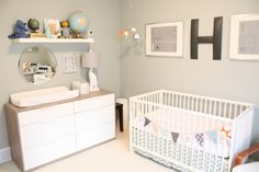 Daffodil Design - Calgary Design and Lifestyle Blog: {i decorate} baby hank's nursery reveal.