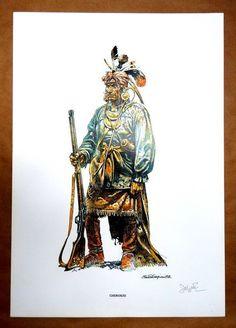Serpieri, Eleuteri - 4x Affiche - Indien Jean Giraud, Ken Parker, Serpieri, Morris, Le Far West, Wild West, Cowboys, Nativity, Things To Come