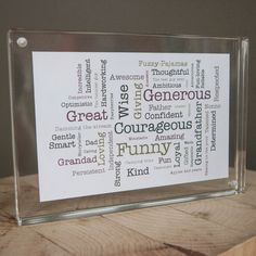 Highlight your co-workers career achievements by creating a custom scape, just for them! #Retirement #Gift #ShareScapes #Scapes